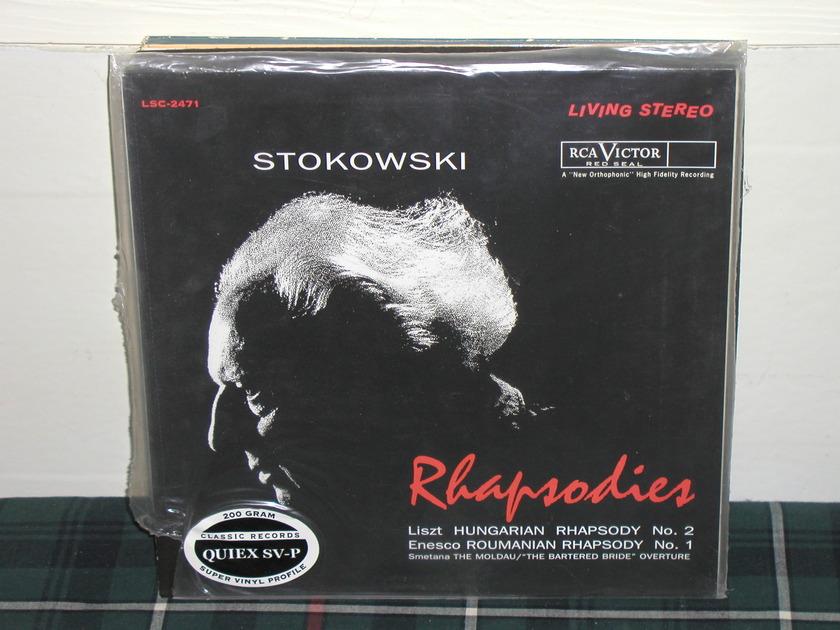 Stokowski/RCAVS - Rhapsodies (Pics) 200g Quiex ClassicRecs