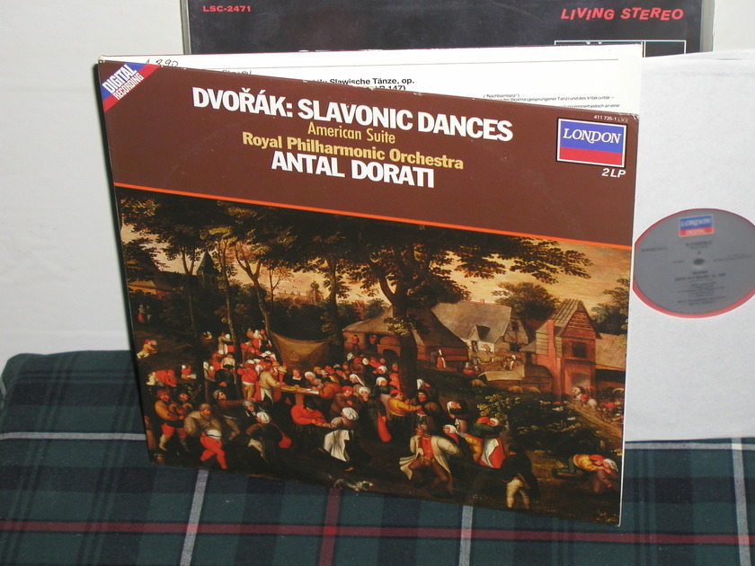 Dorati/RPO - Dvorak Slavonic Danses (Pics) London 2LP set Holland