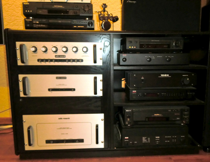 Audio Research SPS-15A & D125 Pre-amp/amp Complete high-end set-up for sale
