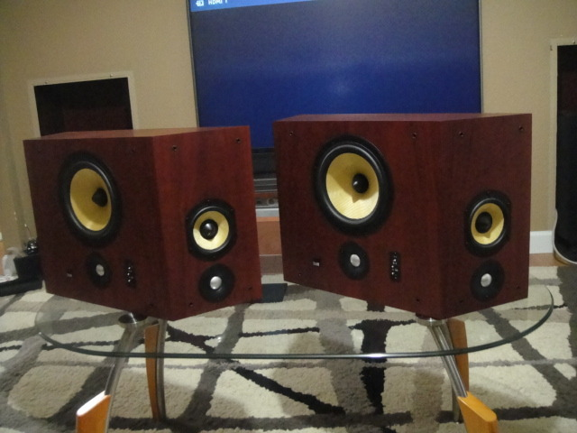 B&W  Bower&Wilkins DS8S 800 series surround speakers