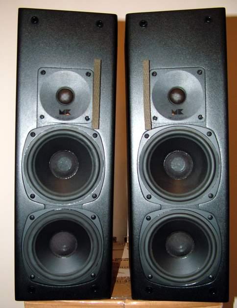 M&K Miller and Kreisel S-125 Speakers