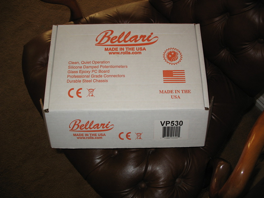 Bellari VP 530 Tube Phono w/USB