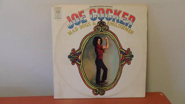 Joe Cocker Mad Dogs - & ENGLishmen first press double lp; mint -