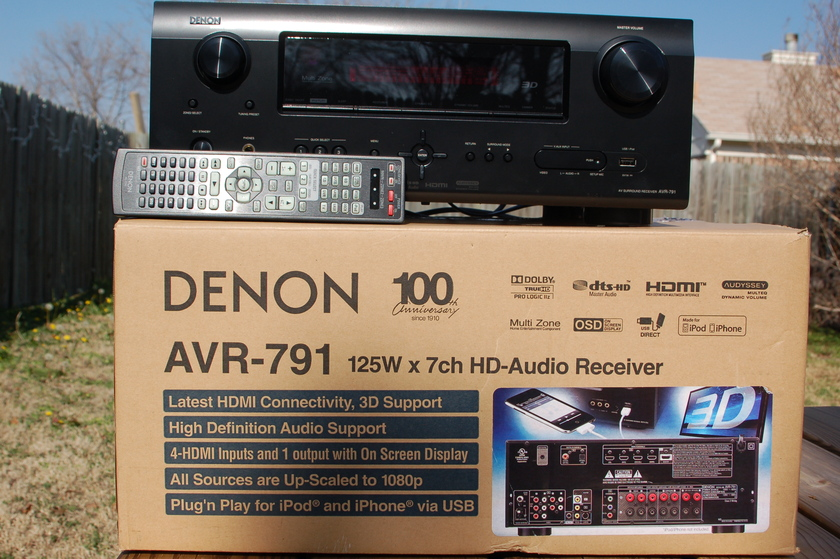 Denon  AVR-791 Home Theater Receiver