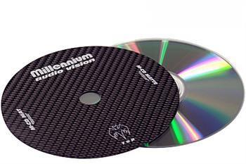 Millennium Audio  M-CD Mat carbon fiber CD mat