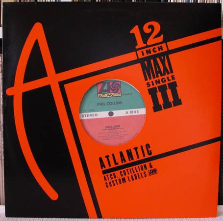 Phil Collins - Sussudio 33RPM maxisingle  nm