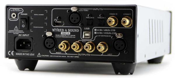 Wyred 4 Sound DAC-2 computer audio 24/192 usb asyn