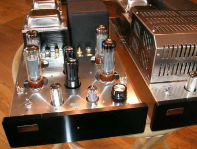 Tube Audio Design TAD-1000 Monoblocks 100 watt tube amps w/xtra EL34's