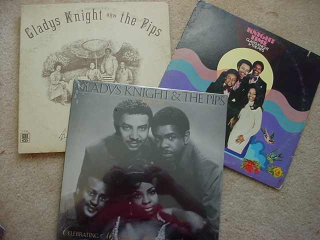 7- GLADYS KNIGHT & THE PIPS - lp's, one price 4 still sealed
