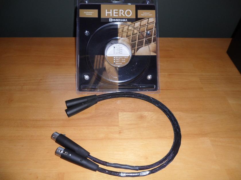 Kimber Hero 0.5m XLR