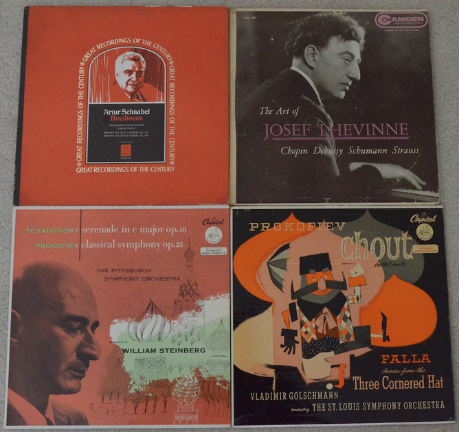 Lot of 17 Mono Classical Albums
