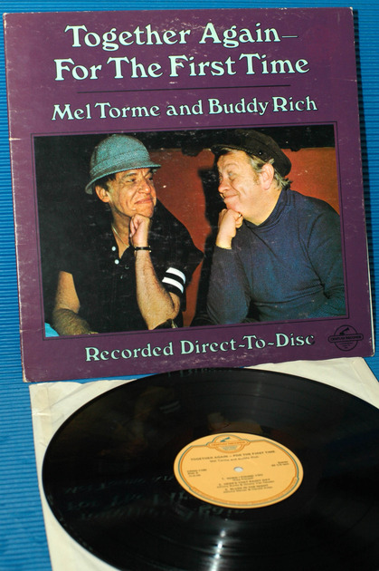 """MEL TORME & BUDDY RICH -  - """"Together Again For The First Time"""" -  Century Records D-D 1977"""