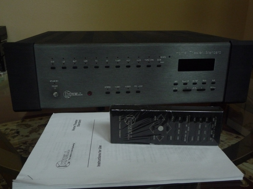 Krell HTS 5.1 Surround Sound Premaplifier/ Processor - Excellent!