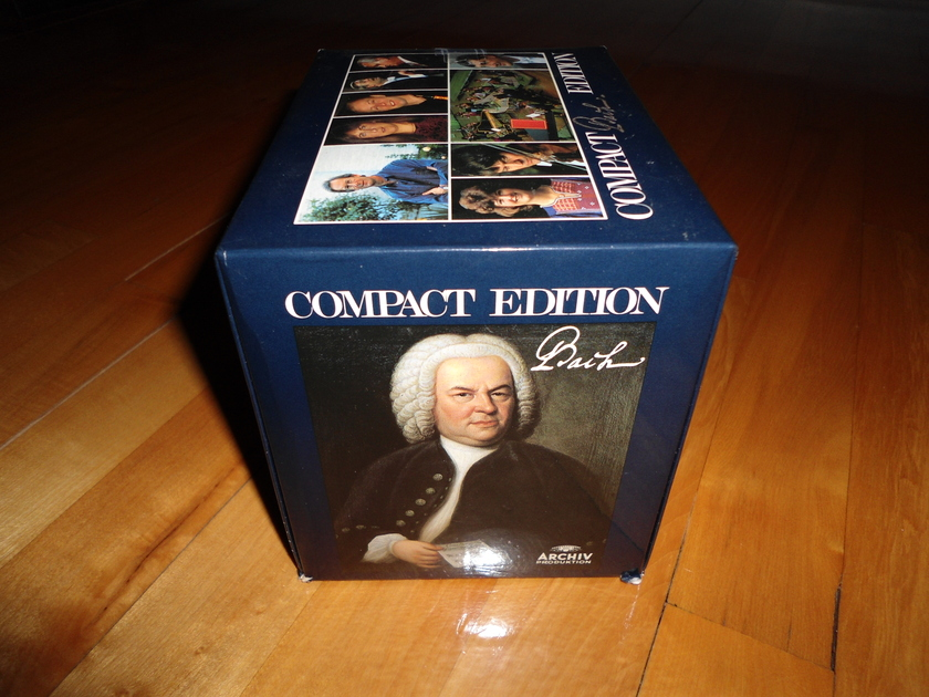 Bach Compact Edition (10 cd's set, - Germany Import)