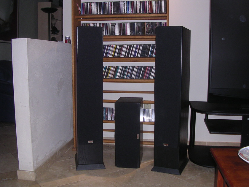 Phase Technology  PC 9.1 - PC 3.1  Home Theater Speaker Package