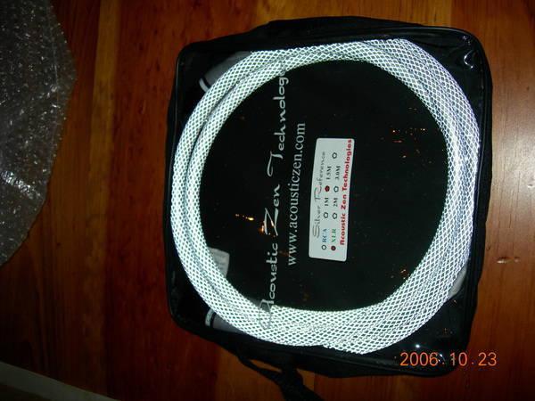 Acoustic Zen silver ref rca or xlr latest version