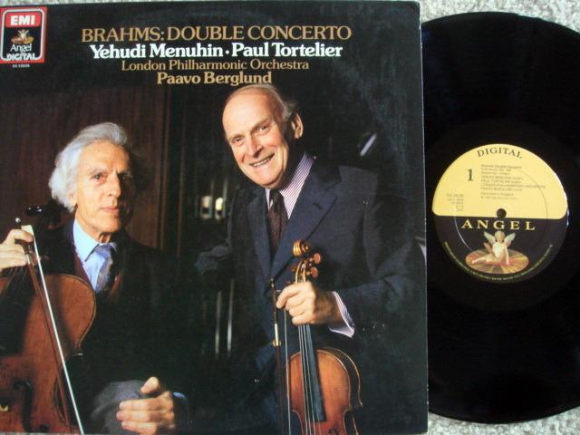 Emi Angel Digital / TORTELIER-MENUHIN, - Brahms Double Concerto, MINT!