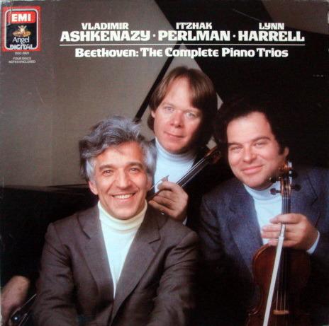 EMI Angel Digital / ASHKENAZY-PERLMAN-HARRELL, - Beethoven Complete Piano Trios, MINT, 4LP Box Set!