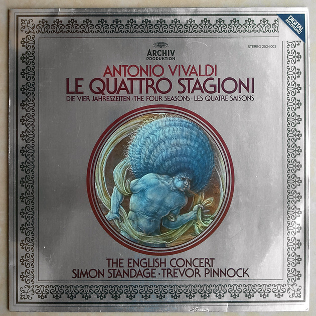 Archiv/Simon Standage/Vivaldi - The Four Seasons / NM