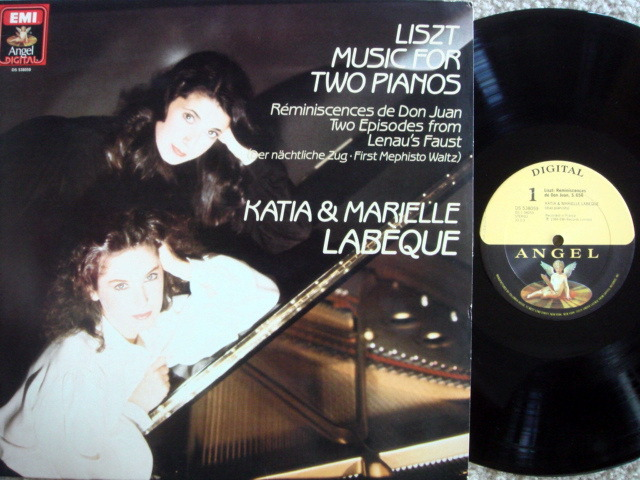 EMI Angel Digital / LABEQUE, - Liszt Music for Two Pianos,  MINT!
