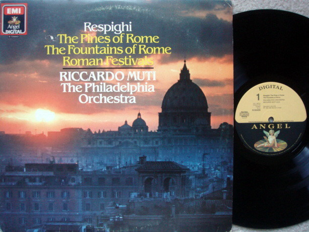 EMI Angel Digital / MUTI, - Respighi Pines of Rome, Roman Festival,  NM!