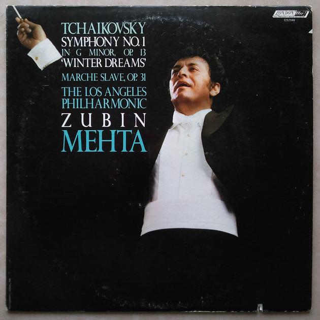 "London ffrr/Mehta/Tchaikovsky - Symphony No.1 ""Winter Dreams"", March Slave / NM"