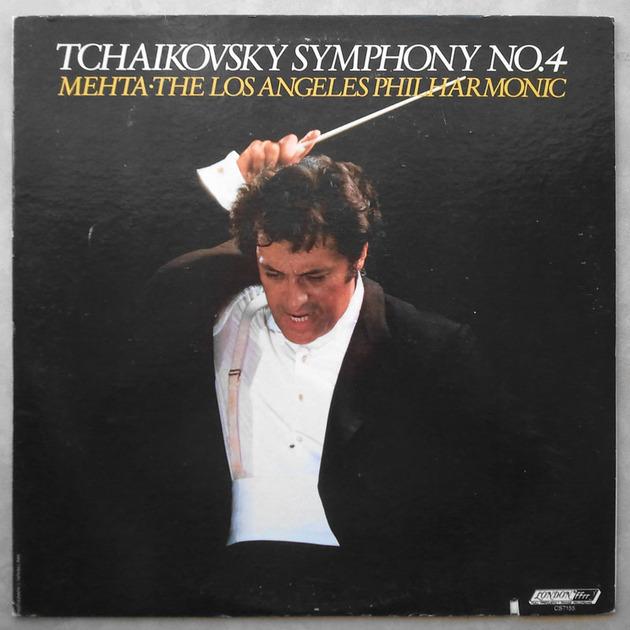 London ffrr/Mehta/Tchaikovsky - Symphony No.4 / NM