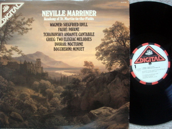 EMI Angel Digital / MARRINER, - WagnerSiegfried Idyll, MINT!