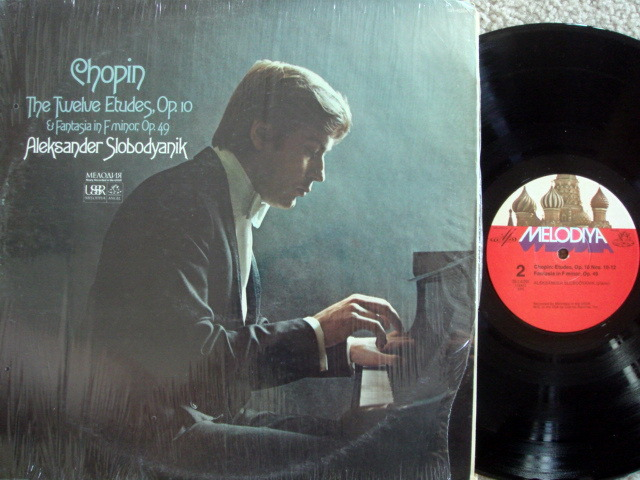 EMI Angel Melodiya / SLOBODYANIK, - Chopin Twelve Edtudes Op.10, MINT!