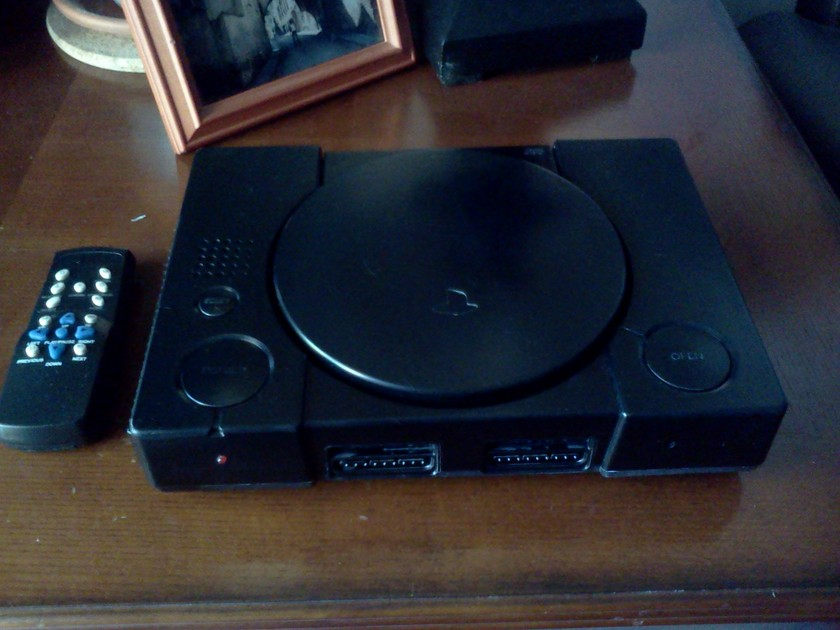 Sony PS-1 SCPH-5501 Modified CD Player (Black)