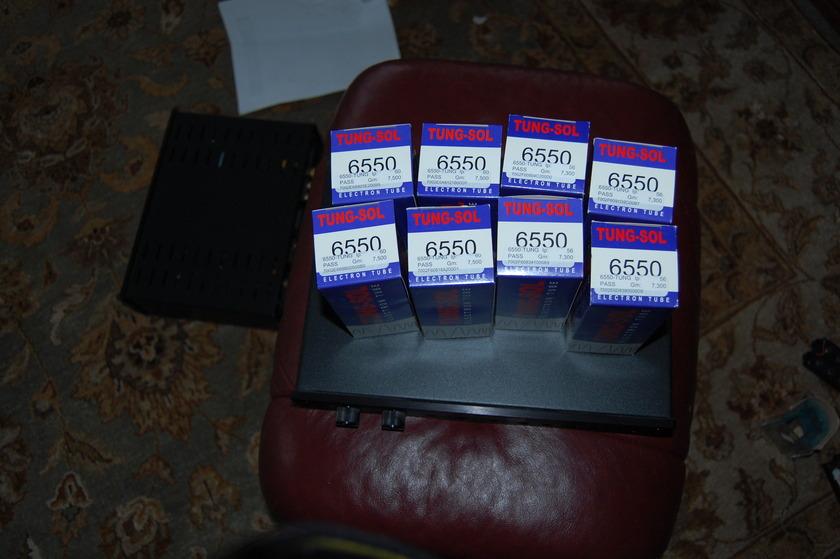 TUNG SOL 6550 MATCHED QUAD TUBE SETS