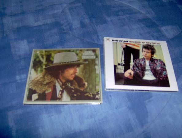 Bob  Dylan Desire - Highway 61 Revisit ed hybrid sacd stereo, free sh