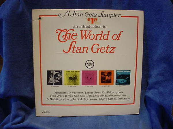 Stan getz - The World of verve vs-200 usa