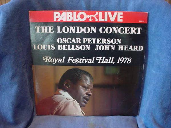 Oscar Peterson - The London Concert pablo lp-2620-111 1978