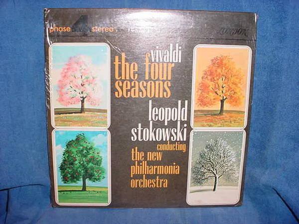 Leopold Stokowski - vivaldi the 4 season phase 4 stereo london sp21078