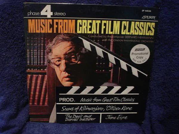 Bernard Herman - Great Film Music london phase 4 stereo spc44144