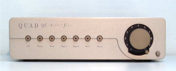 Quad QC24 Tube Preamp with Phono Stage
