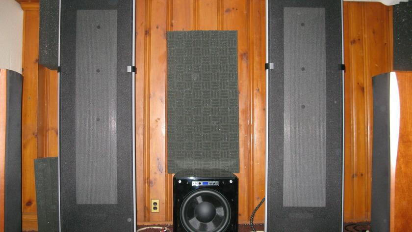 Magnepan 1.7 Speaker black/silver