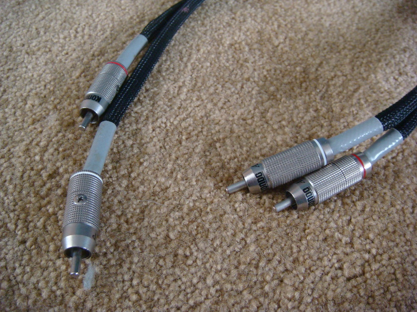 Kondo KSL-LP Silver Interconnect 1-meter pair