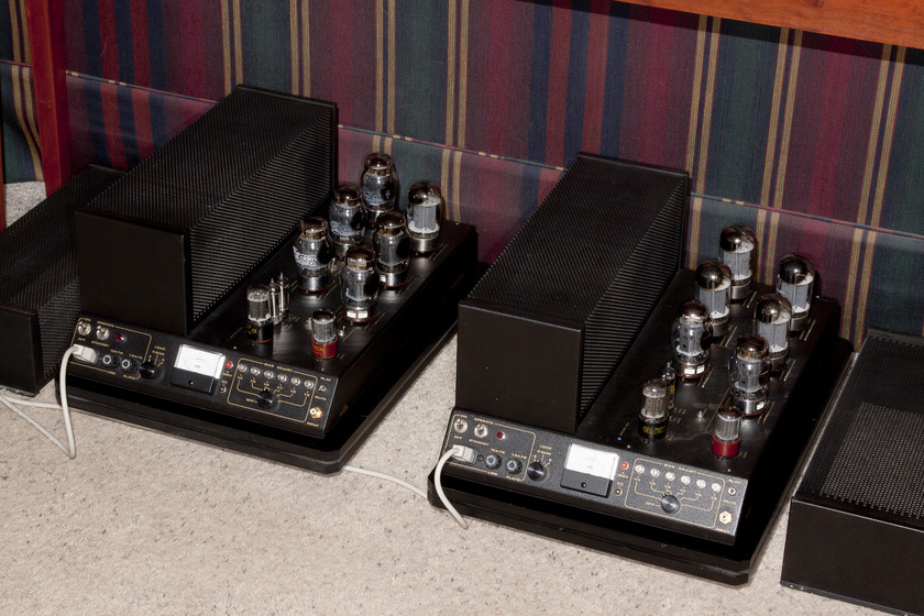 MFA M200 C Power Amps, Tube, Monoblock