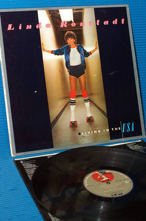 "LINDA RONSTADT -  - ""Living In The USA"" - Asylum 1978 1st pressing"