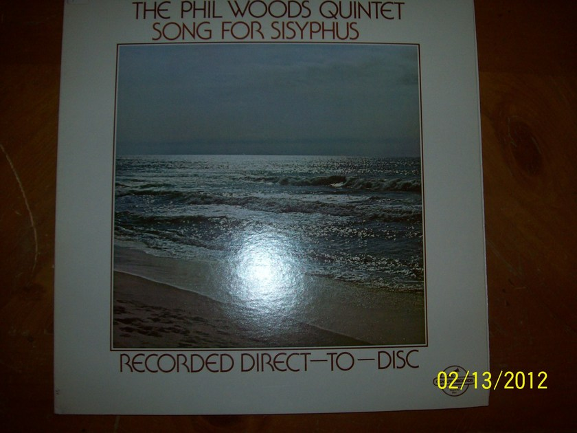 Phil Woods Quintet - Songs for Sisyphus Century Records Direct to Disc Limited Edition