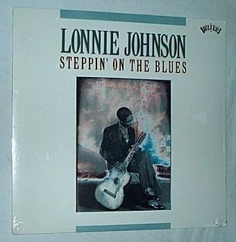 Lonnie Johnson Lp- - Steppin on the blues -superb sealed blues album