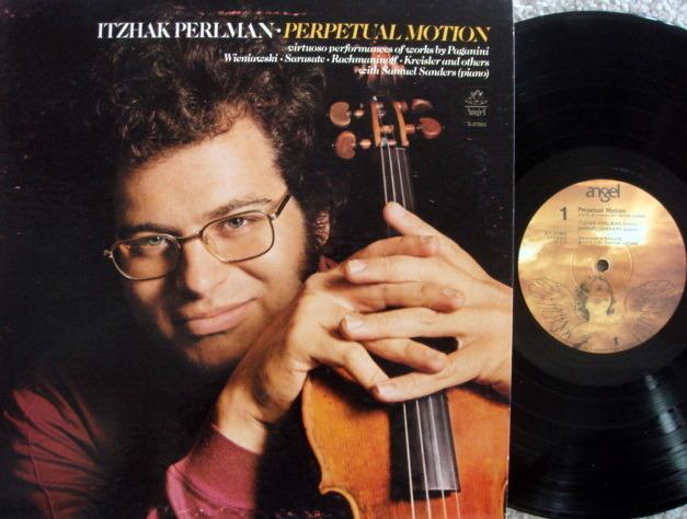 EMI Angel / PERLMAN-SANDERS, - Perpetual Motion, MINT!