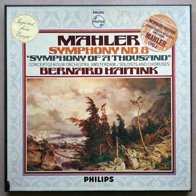 Philips/Haitink/Mahler - Symphony No.8 / 2-LP box set /  NM