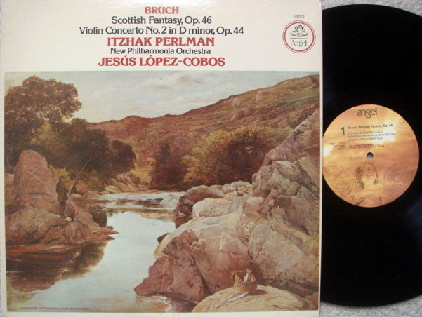 EMI Angel / PERLMAN-COBOS, - Bruch Scottish Fantasy,  MINT!