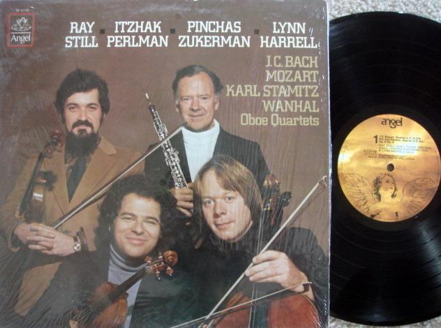 EMI Angel / PERLMAN-ZUKERMAN-HARRELL, - Bach-Mozart Oboe Quartets, VG+!
