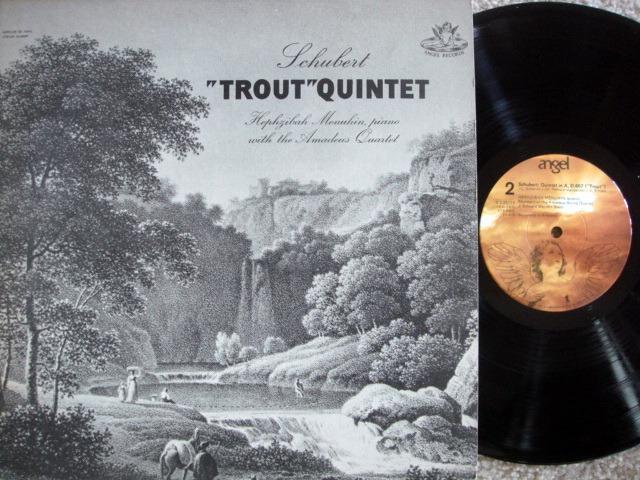 EMI Angel / MENUHIN-AMADEUS QT. , - Schubert Trout Quintet,  MINT!
