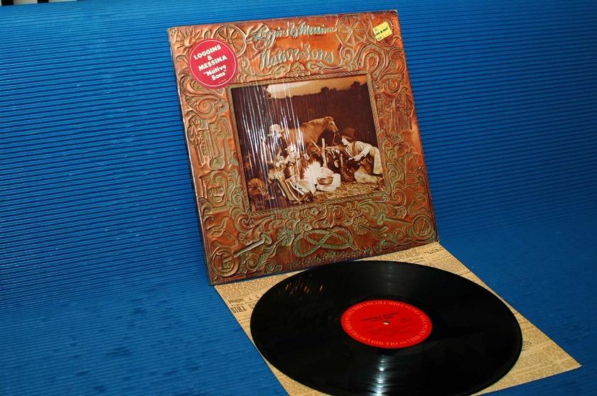 "LOGGINS & MESSINA -  - ""Native Sons"" -  CBS 1976 1st pressing"