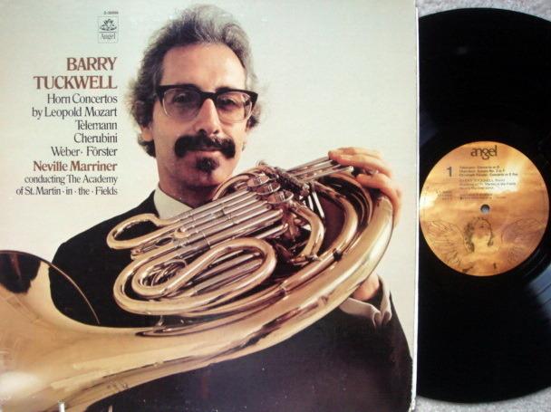 EMI Angel / TUCKWELL-MARRINER, - Mozart Horn concertos,  MINT!